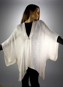 Ivory Kimono Jacket