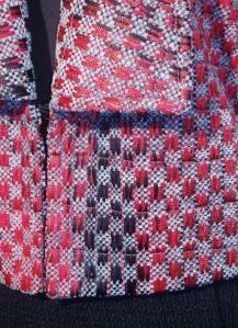 Detail of Tuxedo jacket