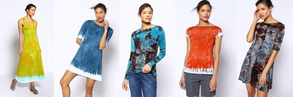 Moontide Dyers garments