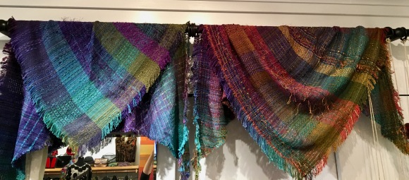 Rebecca Noble handwoven shawls